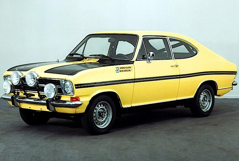 Opel Rallye Kadett Sprint (B) 1971–73