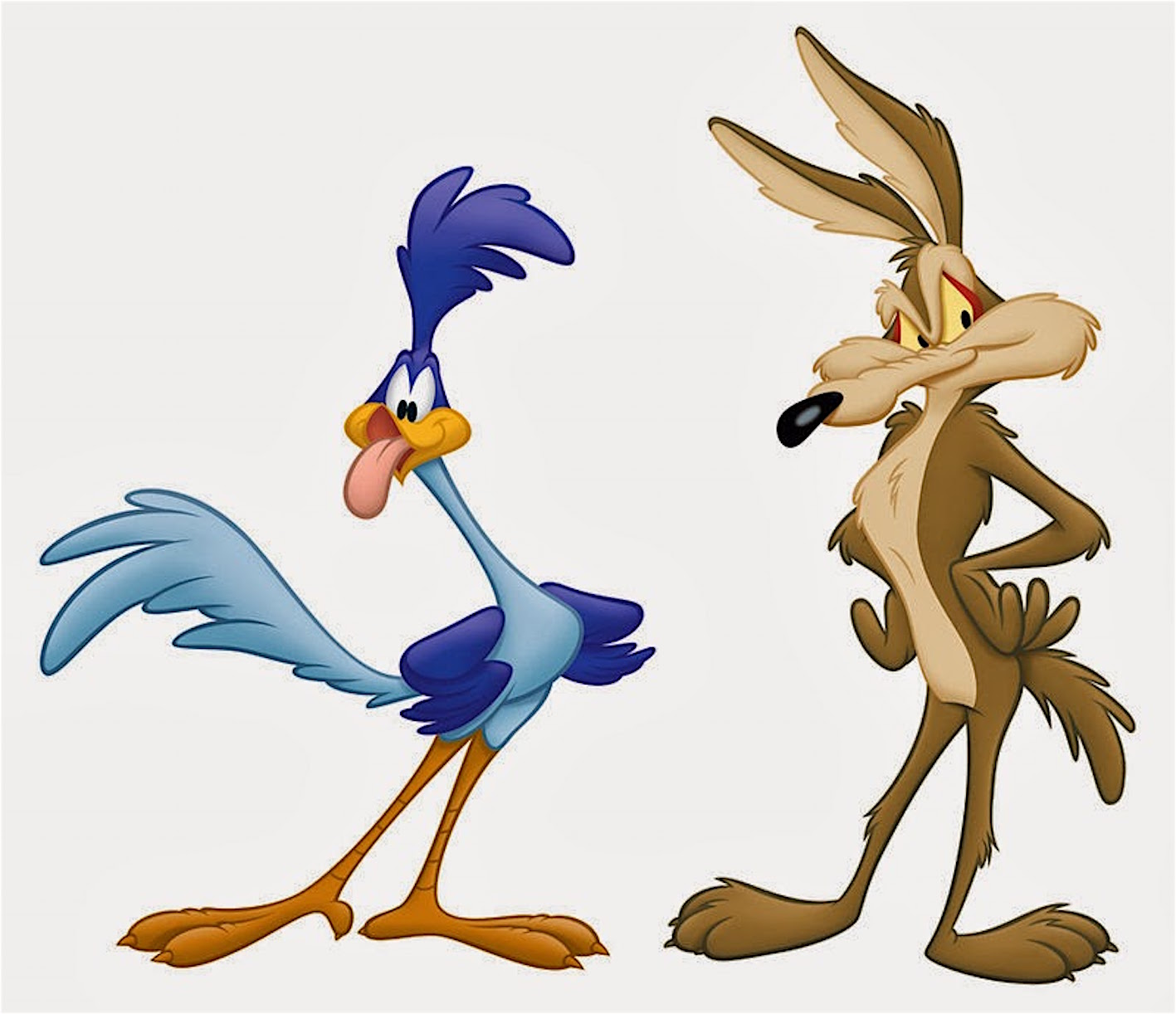 Road runner wile coyote dal cartoni anni