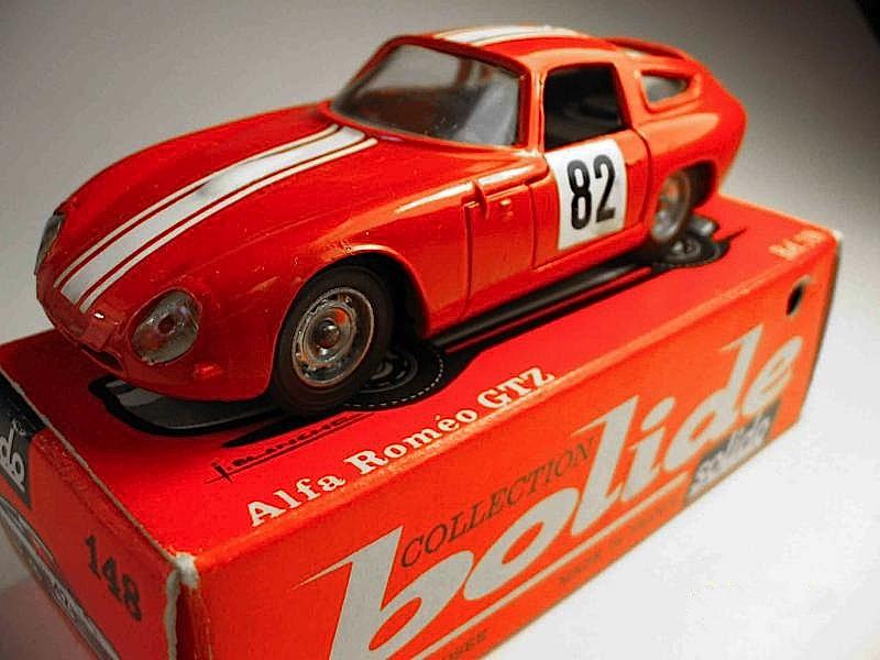 SOLIDO_modellino_Alfa Tz Tour de France con scatola