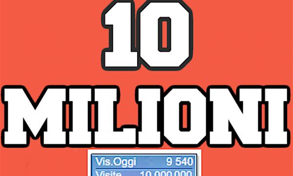 Piacere Franco – Mi presento ai 500.000 fans delle Pagine Facebook e al 10.000.000 contatto al sito