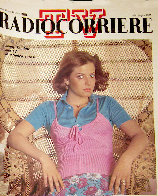 jenny tamburi radiororriere 1975