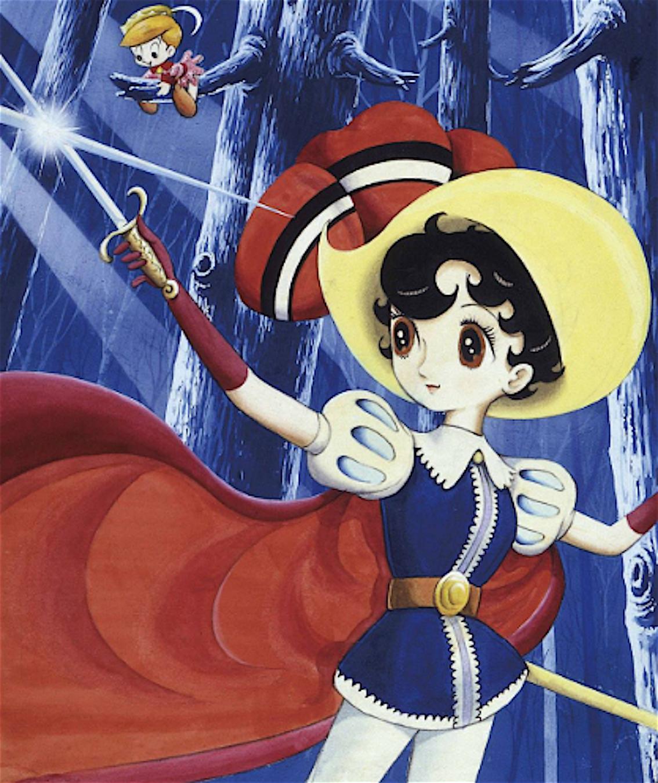 la principessa zaffiro manga anime