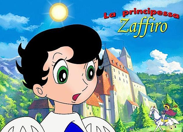 la_principessa_zaffiro_storia_manga_anime