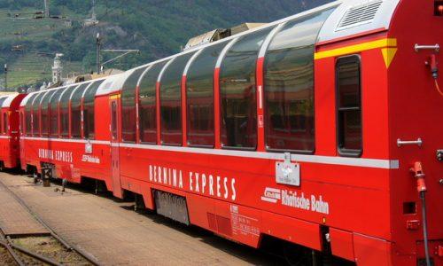 Curiosità dal mondo: BERNINA EXPRESS ( Trenino Rosso ) – dal 1973