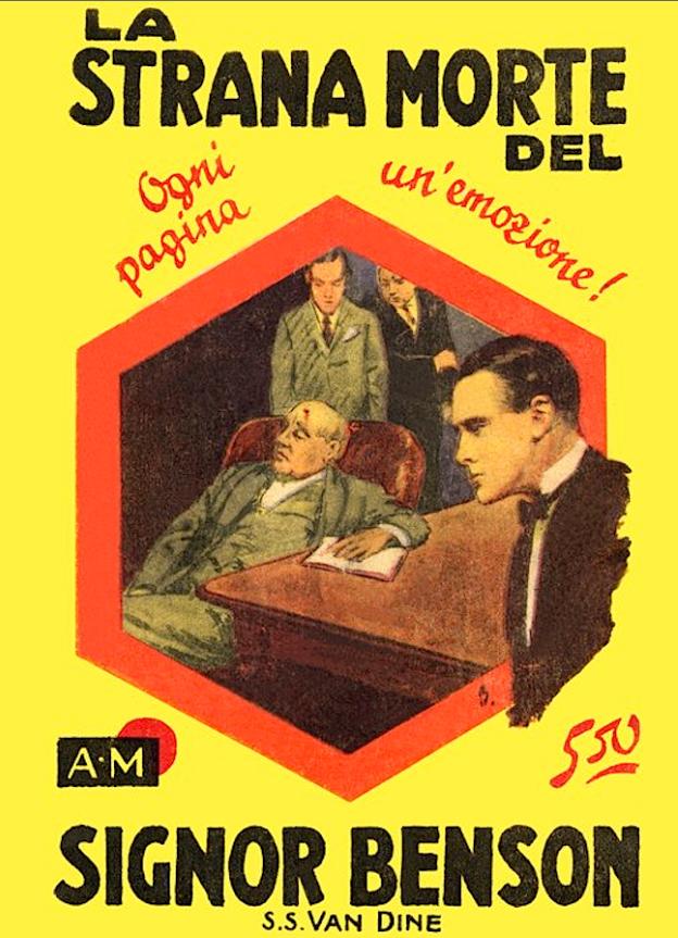 giallo_mondadori_primo_numero_la_strana_morte_del_signor_benson_1929
