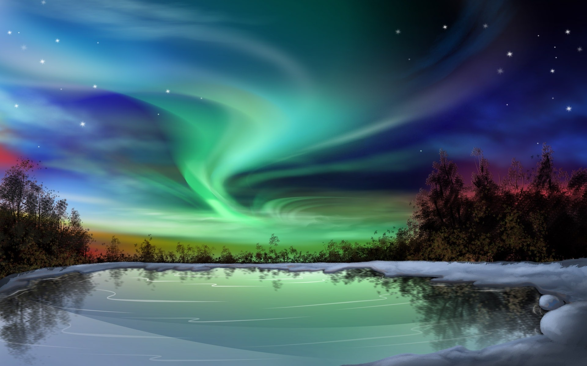 le più belle aurora boreale