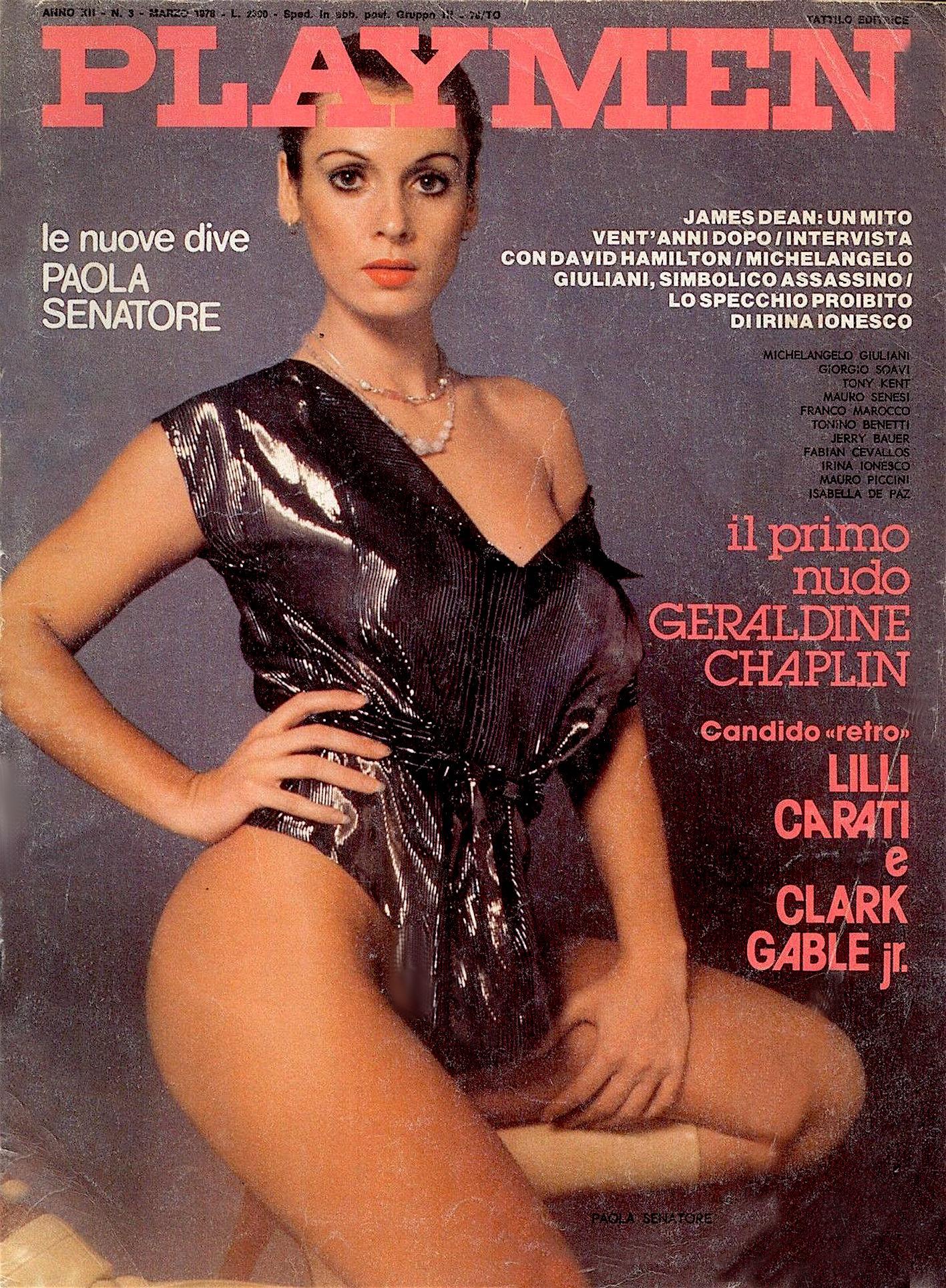paola senatore playmen copertina 1978