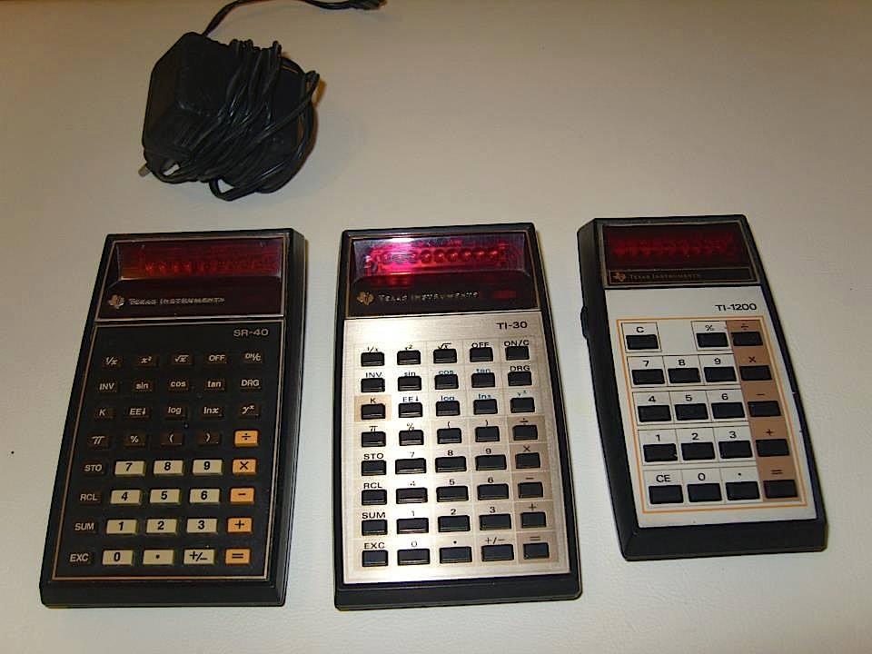 calcolatrici Texas