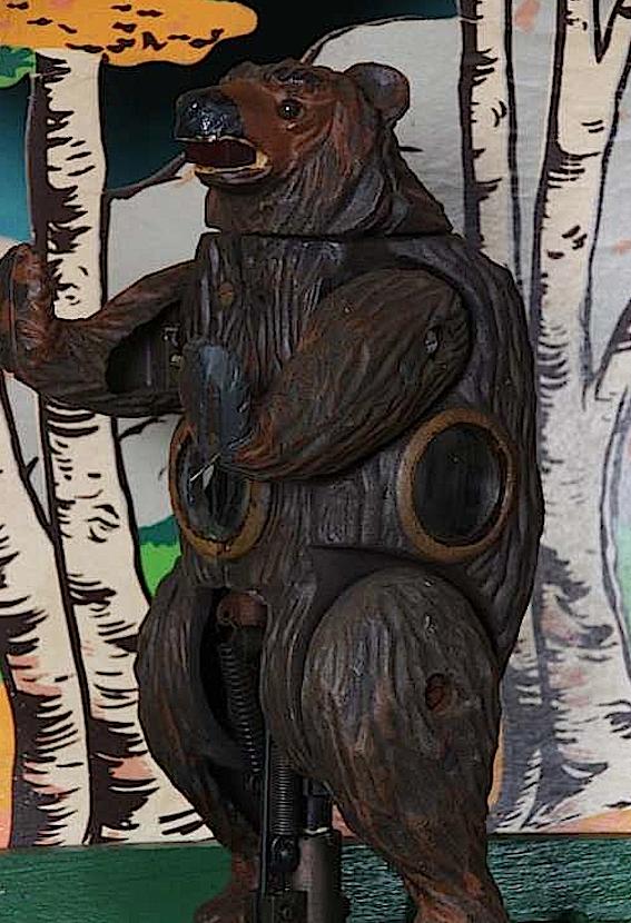 Shoot the bear tiro allorso sala giochi anni 60 e 70