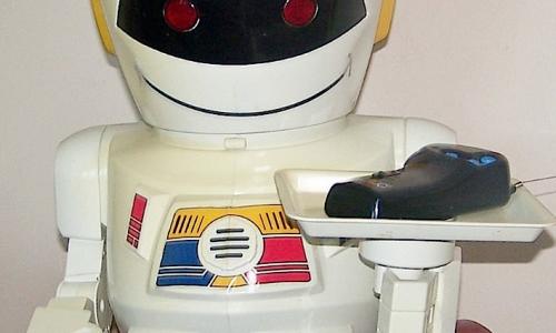 EMIGLIO Robot Giochi Prezioni – La tecnologia fine anni '80 e anni '90