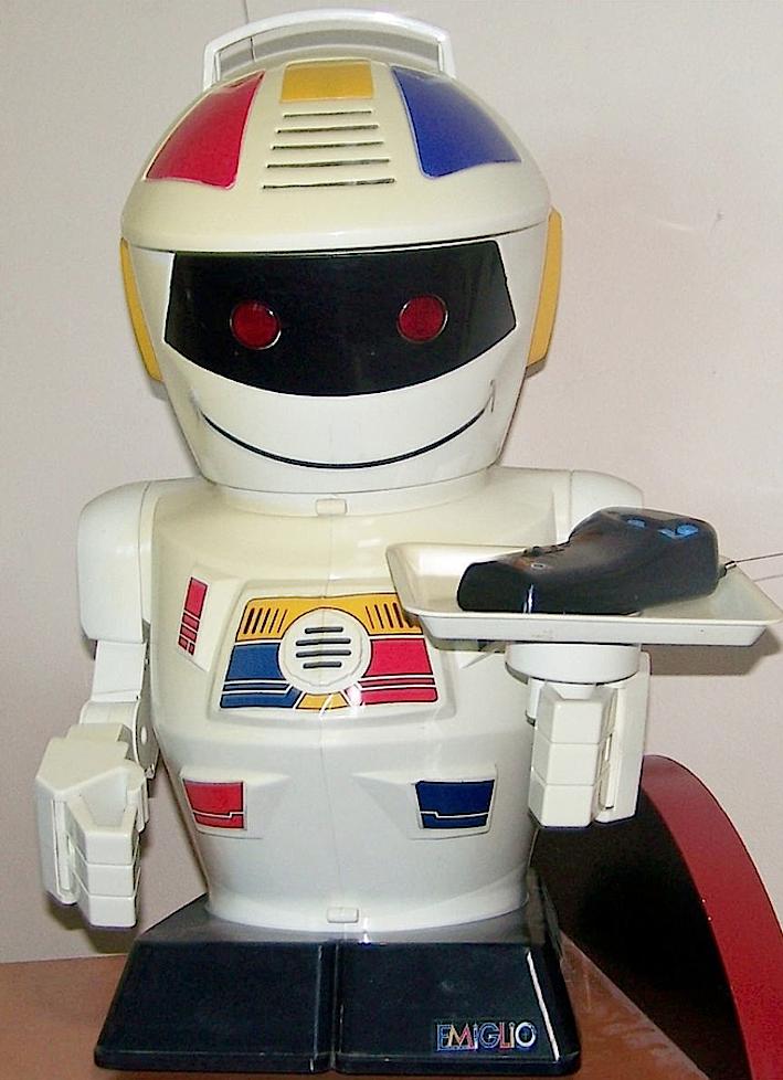 Emiglio è meglio robot giocattolo anni 90 qui con curiosità video foto
