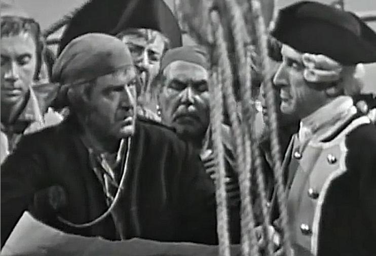 l'isola del tesoro sceneggiato rai 1959