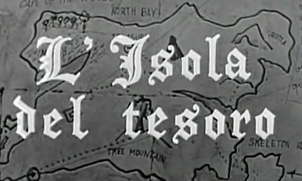 L'ISOLA DEL TESORO – Sceneggiato RAI – (1959/1987)