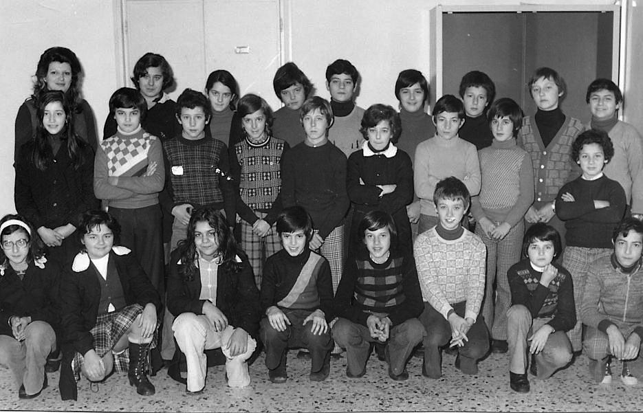 4 foto scuola media 1976