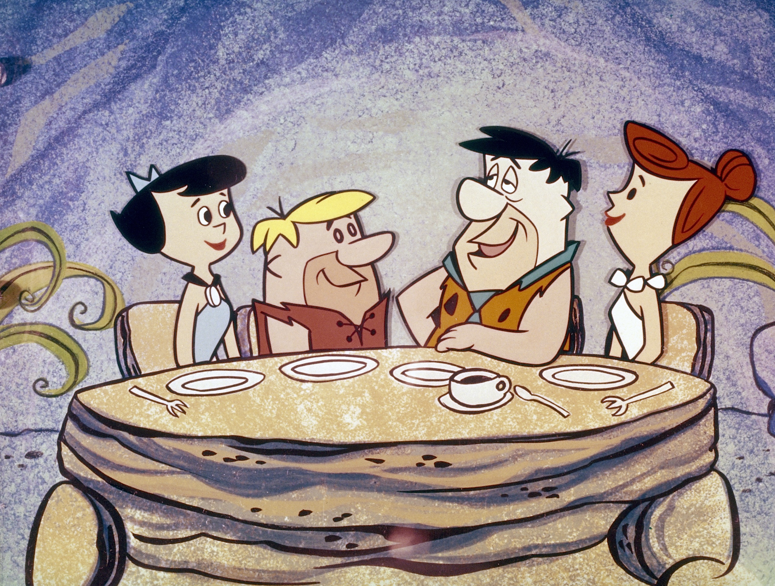 THE FLINTSTONES - 9/30/60-4/1/66 Betty Rubble, Barney Rubble, Fred Flintstone, Wilma Flintstone (AMERICAN BROADCASTING COMPANIES, INC.)