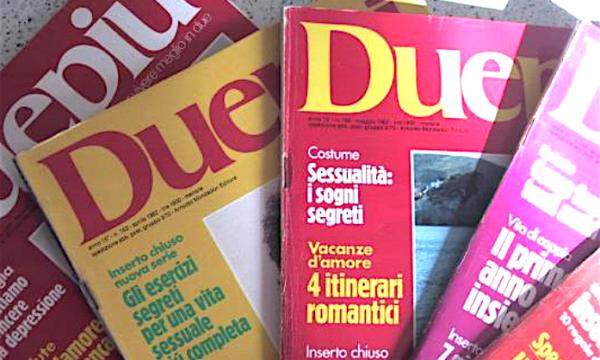DUEPIU' Rivista Mondadori – (Fine anni 60 / Inizio anni 80)