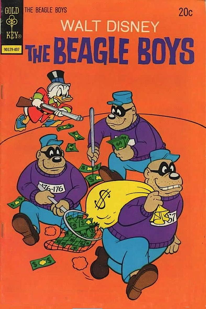 Banda bassotti beagle boys personaggi disney
