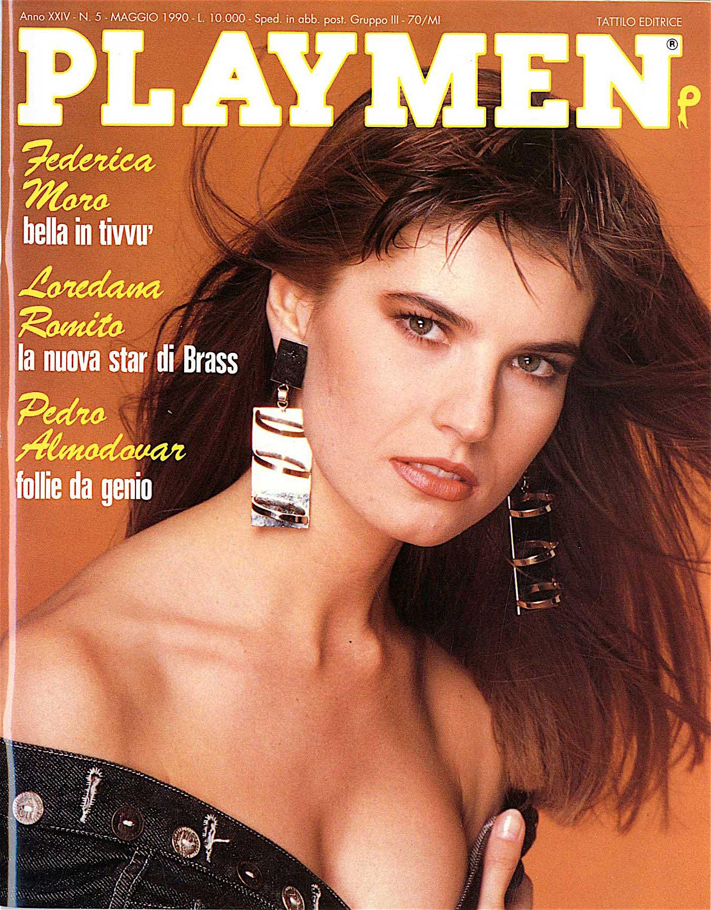 fedrica moro PLAYMEN-1990