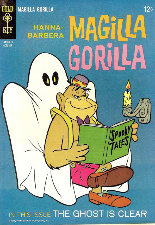 Magilla gorilla hanna barbera cartoni anni