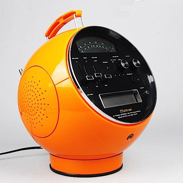 stereo 8 Weltron-radio