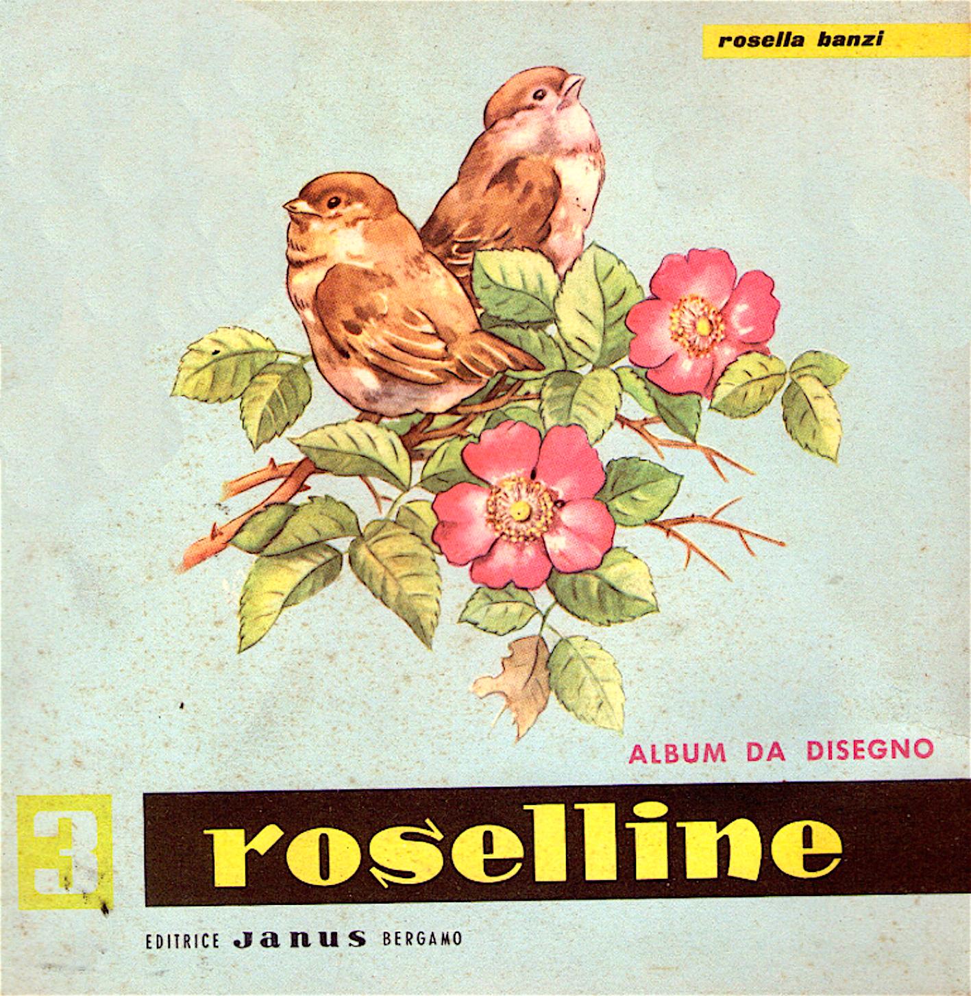 Le_roselline_album_disegno_vintage