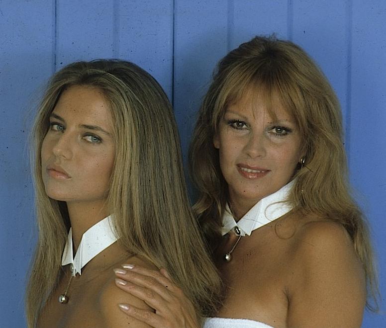 antonella Lualdi Antonella Interlenghi negli anni 80