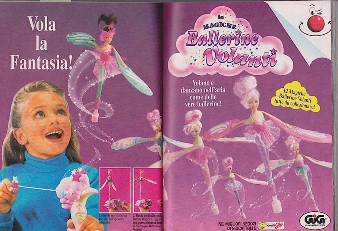 ballerine-volanti-topolino-liena-gig-giocattolo-anni-90