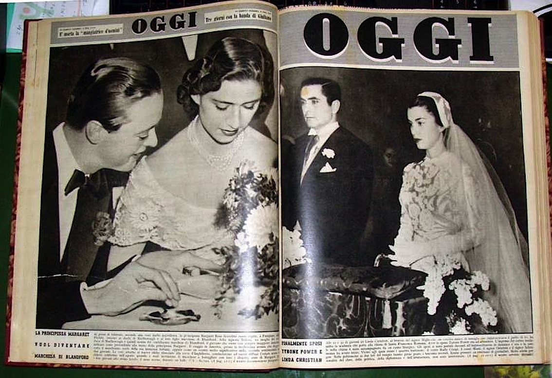 oggi_rivista_tyrone_power_lynda_christian