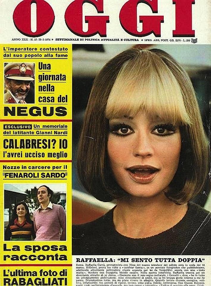 oggi_settimanale_rivista_1974_copertina_raffaela_carrà