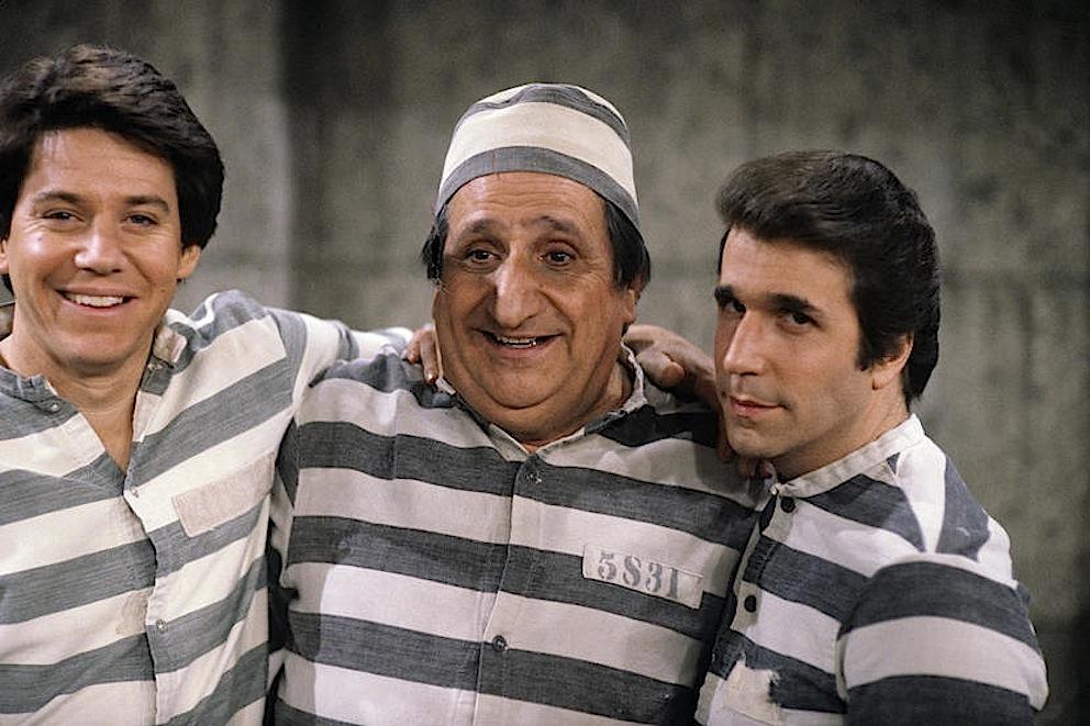 "HAPPY DAYS - ""American Musical"" 5/26/81 Anson Williams, Al Molinaro, Henry Winkler"