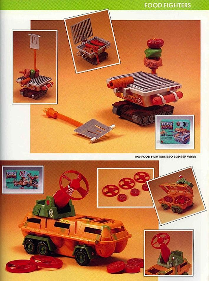food_fighers_accessorio_mattel_giocattoli