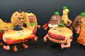 FOOD FIGHTERS - Action Figure Mattel distribuiti da Burghy - (1988)