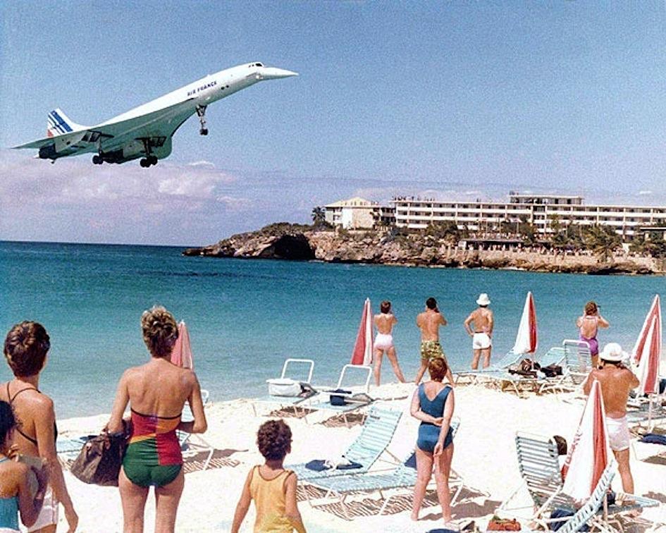 Sint Maarten Aeroporto Concorde