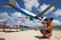 Luoghi Curiosi del mondo: AEROPORTO SINT MAARTEN … voli in spiaggia