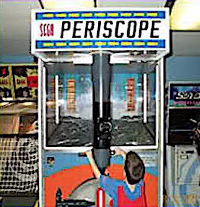 Periscope giochi arcade del passato sega sala giochi anni 60 for Sala giochi del garage