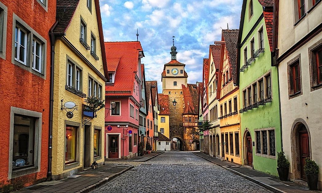 rothenburg-romantische-strasse-natale-città