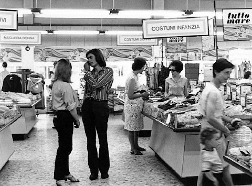Interni UPIM anni '70