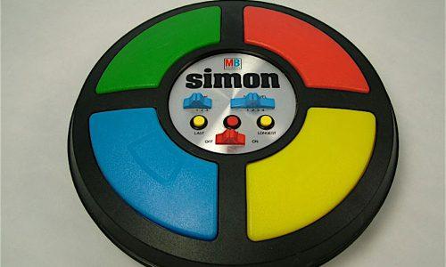 SIMON – MB – Gioco di memoria – (1978)