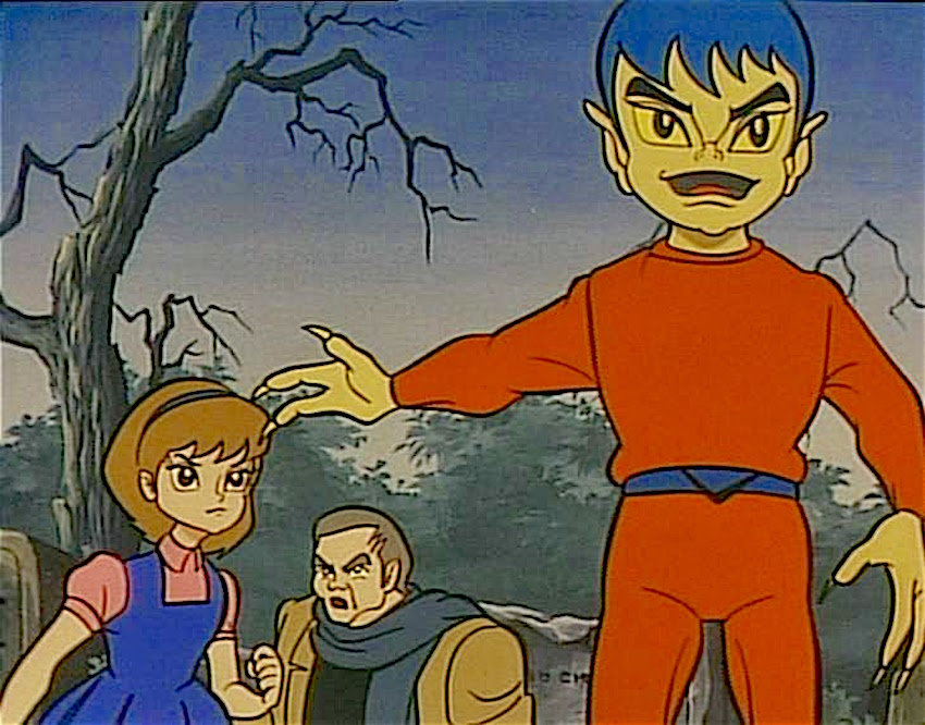 Bem il mostro umano anime 1968 qui con curiosità disegni e video