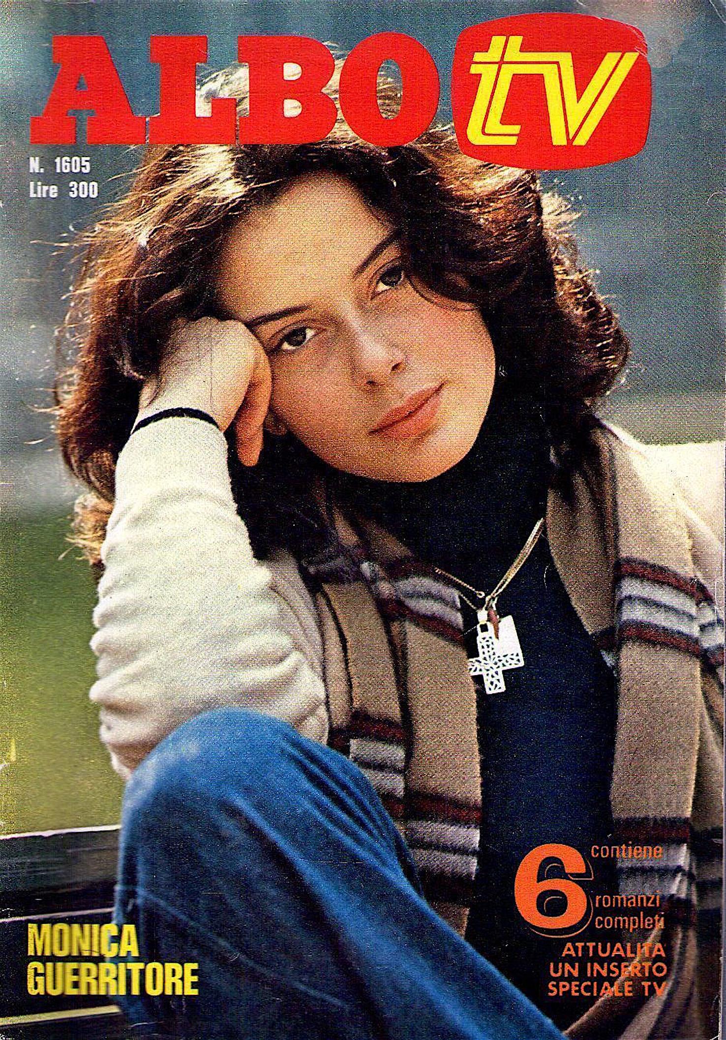 monica Guerritore albo tv 1976 copertina