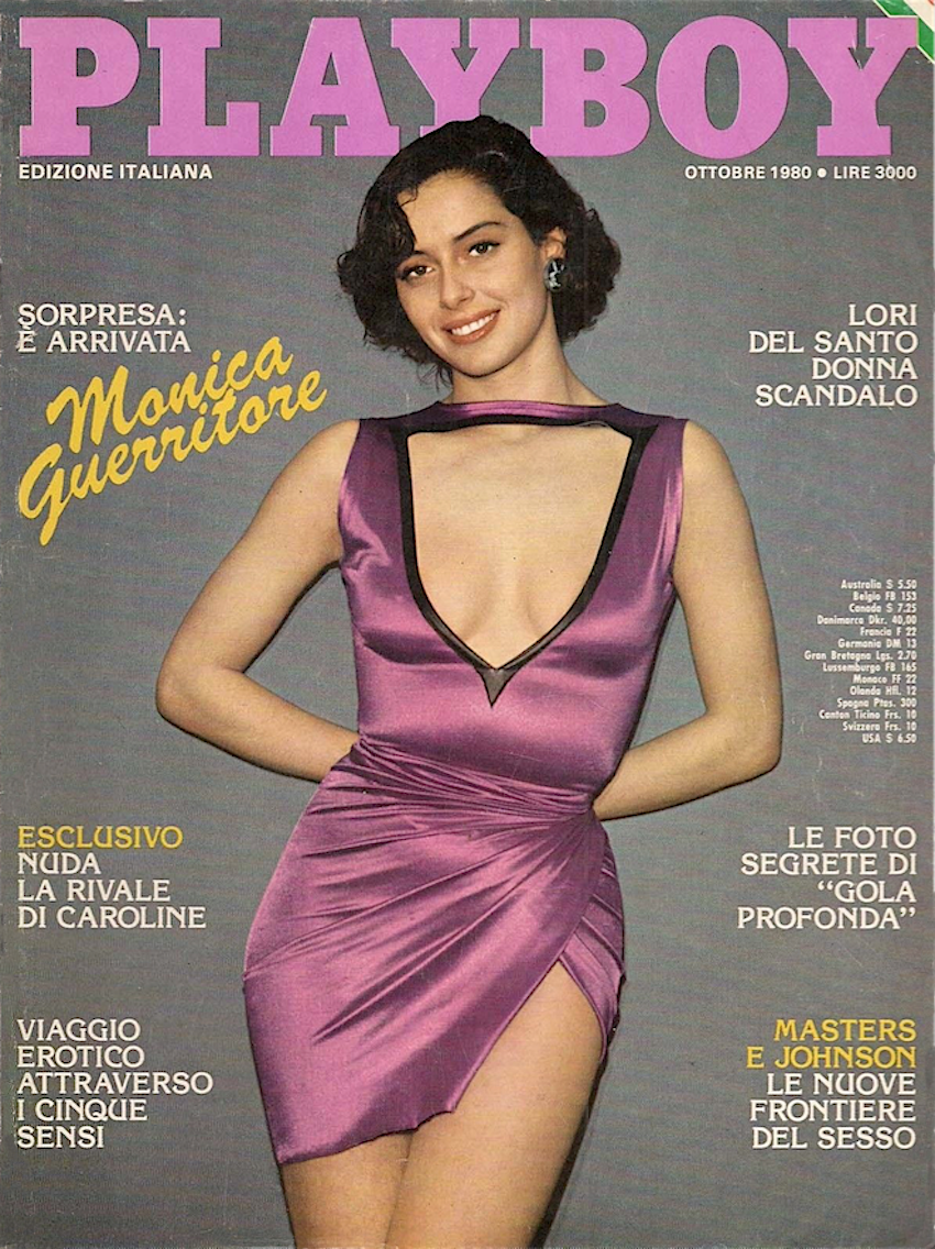 monica Guerritore playboy 1980