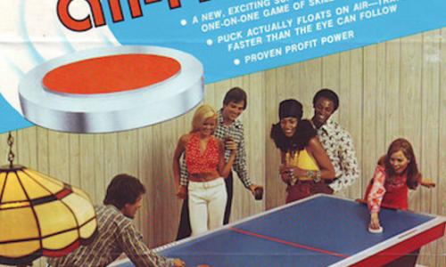 Giochi Arcade del passato: AIR HOCKEY da tavolo – (1973)