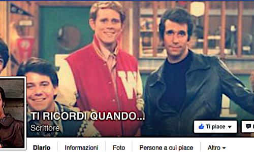 Nuova Pagina Facebook : TI RICORDI QUANDO …