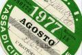 BOLLO AUTO / MOTO o TASSA DI CIRCOLAZIONE - (dal 1953)
