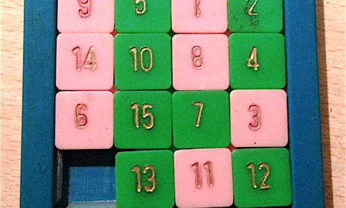 Il gioco dei QUINDICI – (dal 1874 )