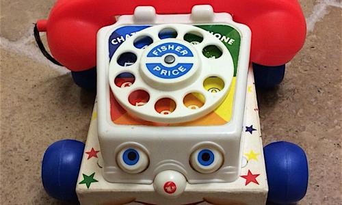 Il TELEFONO CHIACCHIERONE – Fischer Price – (dal 1961)