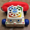 &nbsp;<center> Il TELEFONO CHIACCHIERONE - Fischer Price - (dal 1961)
