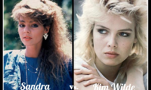 SANDRA vs KIM WILDE – Ieri e Oggi