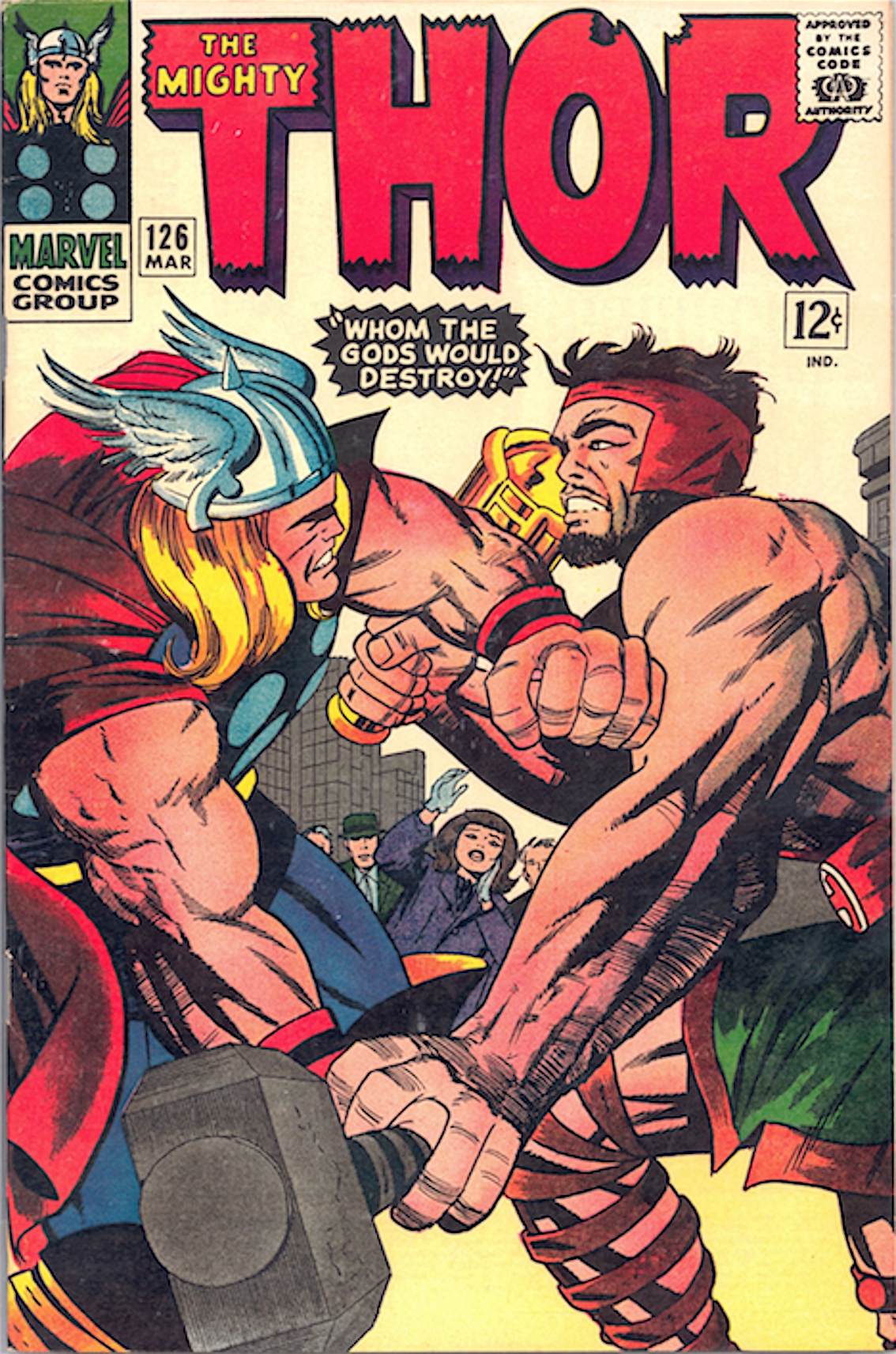 the might thor fumetto 126 1966