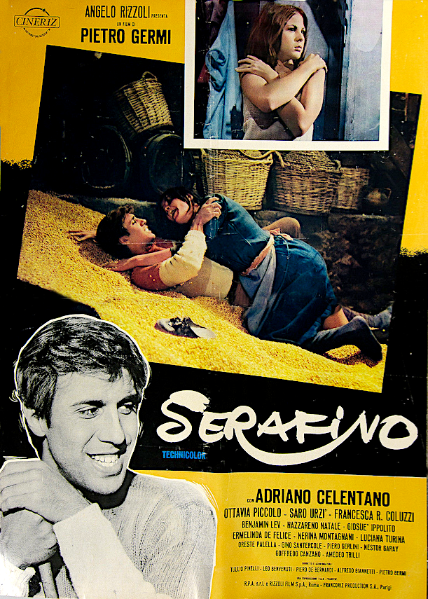 SERAFINO film del 1968 con Celentano qui con curiosità